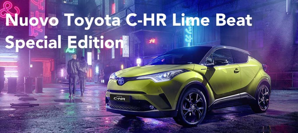 Toyota-C-HR-lime Special Edition
